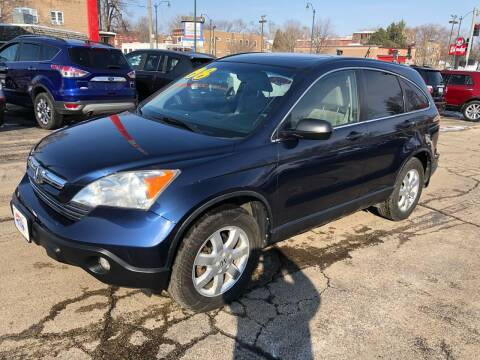 2008 Honda CR-V for sale at Bibian Brothers Auto Sales & Service in Joliet IL