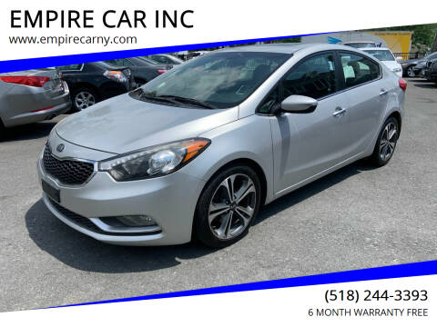 2015 Kia Forte for sale at EMPIRE CAR INC in Troy NY