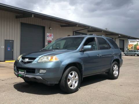 2005 Acura MDX for sale at DASH AUTO SALES LLC in Salem OR