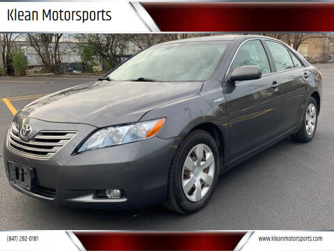 2007 Toyota Camry for sale at Klean Motorsports in Skokie IL