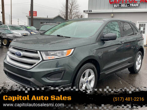 2015 Ford Edge for sale at Capitol Auto Sales in Lansing MI