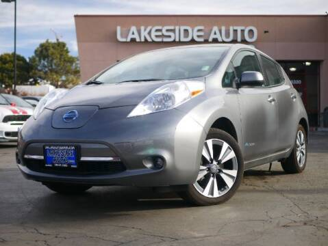 2017 Nissan LEAF for sale at Lakeside Auto Brokers in Colorado Springs CO