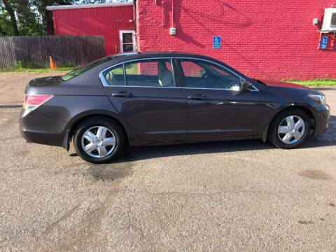 2012 Honda Accord for sale at WB Auto Sales LLC in Barnum MN