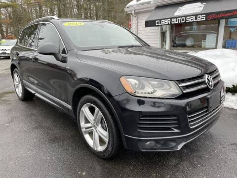 2014 Volkswagen Touareg for sale at Clear Auto Sales 2 in Dartmouth MA