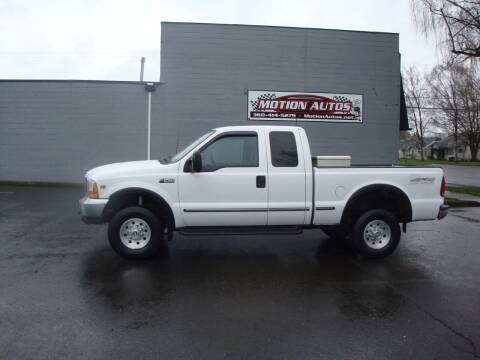 1999 Ford F-250 Super Duty for sale at Motion Autos in Longview WA