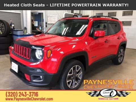 2015 Jeep Renegade for sale at Paynesville Chevrolet Buick in Paynesville MN