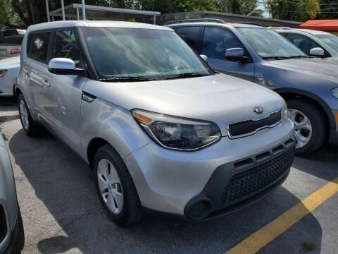 2015 Kia Soul for sale at America Auto Wholesale Inc in Miami FL
