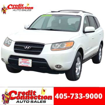 2007 Hyundai Santa Fe for sale at Credit Connection Auto Sales in Midwest City OK