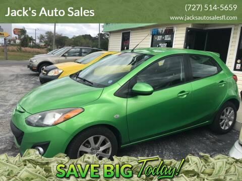 2012 Mazda MAZDA2 for sale at Jack's Auto Sales in Port Richey FL