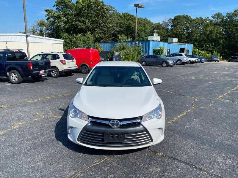 2017 Toyota Camry for sale at M & J Auto Sales in Attleboro MA