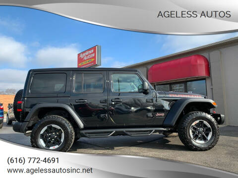 2019 Jeep Wrangler Unlimited for sale at Ageless Autos in Zeeland MI