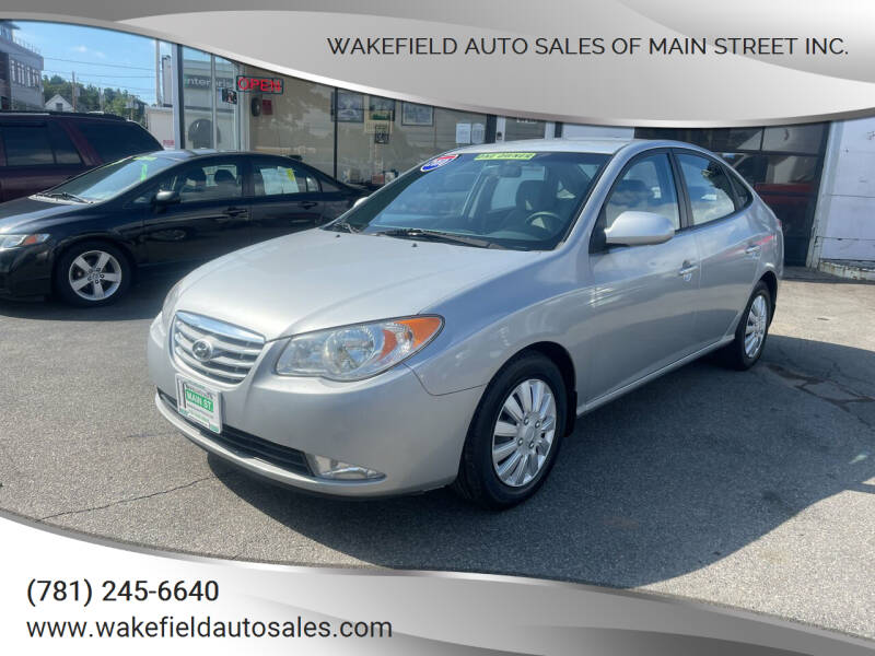 2010 Hyundai Elantra for sale at Wakefield Auto Sales of Main Street Inc. in Wakefield MA