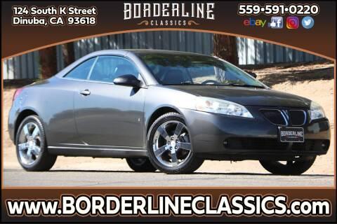 2007 Pontiac G6 for sale at Borderline Classics in Dinuba CA