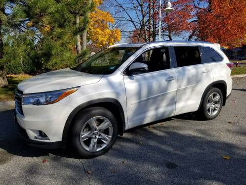 2016 Toyota Highlander for sale at Plum Auto Works Inc in Newburyport MA