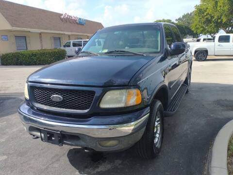 2002 Ford F-150 for sale at LAND & SEA BROKERS INC in Pompano Beach FL