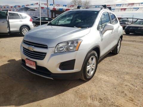 2016 Chevrolet Trax for sale at Bickham Used Cars in Alamogordo NM