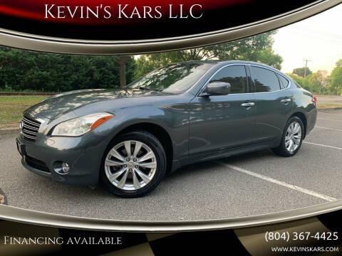2011 Infiniti M37 for sale at Kevin's Kars LLC in Richmond VA