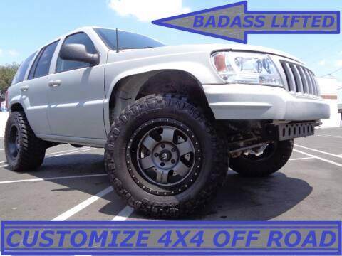2004 Jeep Grand Cherokee for sale at ALL STAR TRUCKS INC in Los Angeles CA