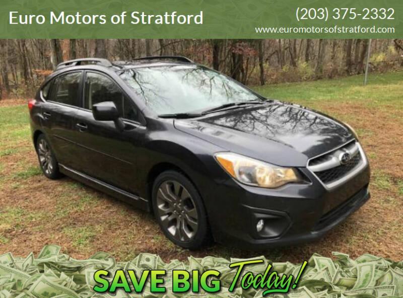 2013 Subaru Impreza for sale at Euro Motors of Stratford in Stratford CT