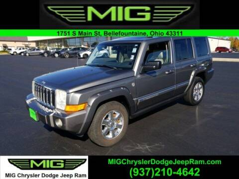 2007 Jeep Commander for sale at MIG Chrysler Dodge Jeep Ram in Bellefontaine OH