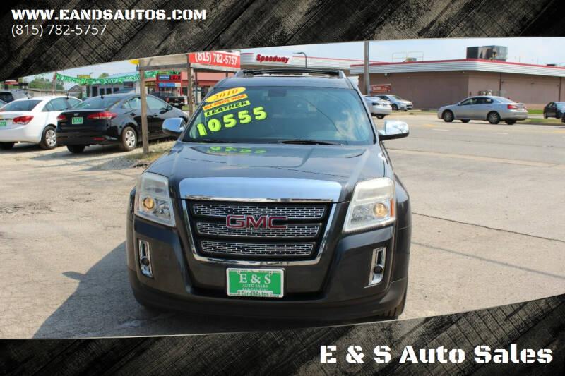 2010 GMC Terrain for sale at E & S Auto Sales in Crest Hill IL