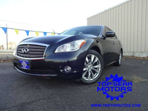 2013 Infiniti M37 for sale at Top Gear Motors in Union Gap WA