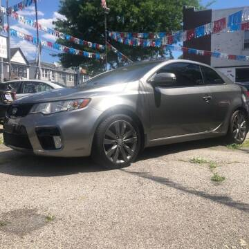 2012 Kia Forte Koup for sale at GARET MOTORS in Maspeth NY