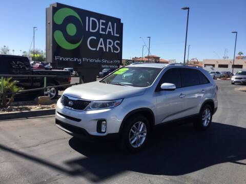 2015 Kia Sorento for sale at Ideal Cars Broadway in Mesa AZ