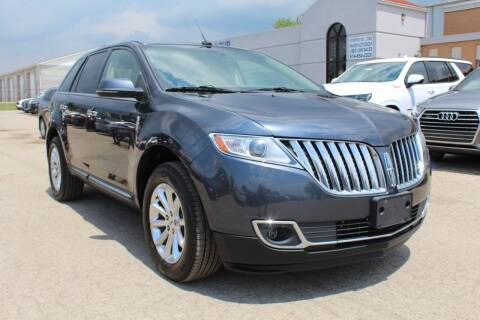 2013 Lincoln MKX for sale at SHAFER AUTO GROUP in Columbus OH