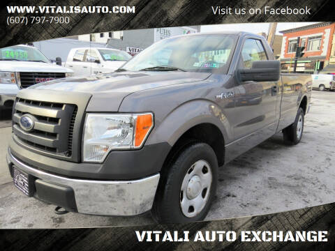 2009 Ford F-150 for sale at VITALI AUTO EXCHANGE in Johnson City NY