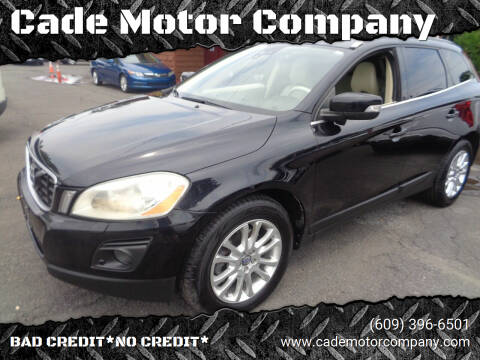 2010 Volvo XC60 for sale at Cade Motor Company in Lawrence Township NJ