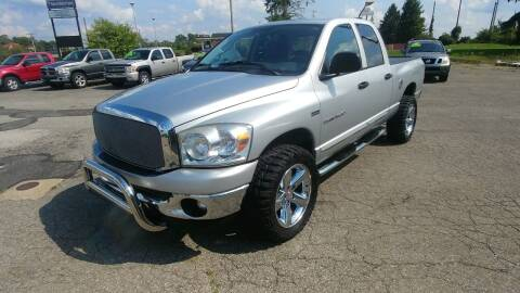 2007 Dodge Ram Pickup 1500 for sale at AutoBoss PRE-OWNED SALES in Saint Clairsville OH