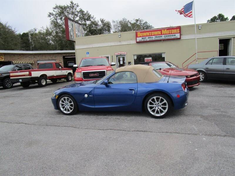 2006 BMW Z4 for sale at DERIK HARE in Milton FL