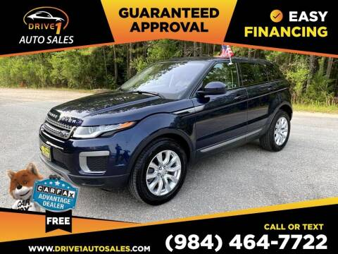 2017 Land Rover Range Rover Evoque for sale at Drive 1 Auto Sales in Wake Forest NC
