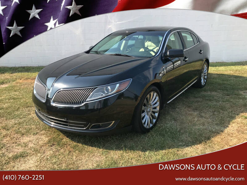 2014 Lincoln MKS for sale at Dawsons Auto & Cycle in Glen Burnie MD