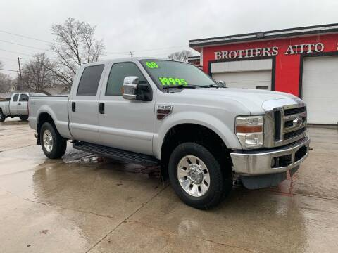 2008 Ford F-250 Super Duty for sale at BROTHERS AUTO SALES in Hampton IA