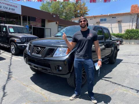 2017 Nissan Frontier for sale at Automaxx Of San Diego in Spring Valley CA