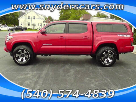2017 Toyota Tacoma for sale at Snyders Auto Sales in Harrisonburg VA