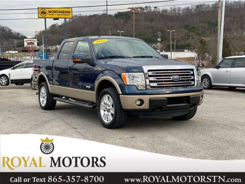 2013 Ford F-150 for sale at ROYAL MOTORS LLC in Knoxville TN
