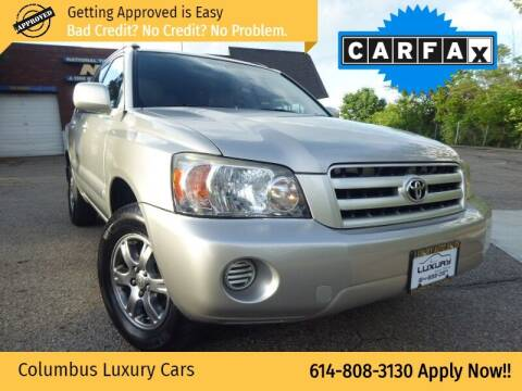 2006 Toyota Highlander for sale at Columbus Luxury Cars in Columbus OH