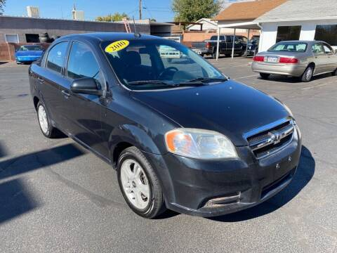 2010 Chevrolet Aveo for sale at Robert Judd Auto Sales in Washington UT