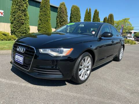 2013 Audi A6 for sale at AUTOTRACK INC in Mount Vernon WA