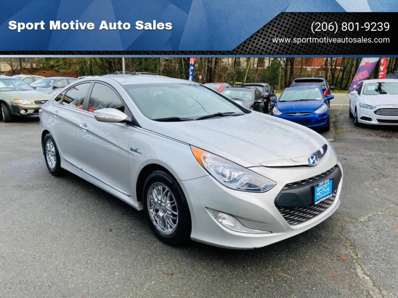 2012 Hyundai Sonata Hybrid for sale at Sport Motive Auto Sales in Seattle WA