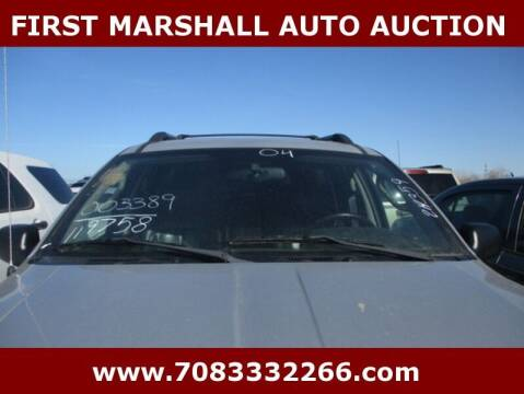 2004 Jeep Grand Cherokee for sale at First Marshall Auto Auction in Harvey IL