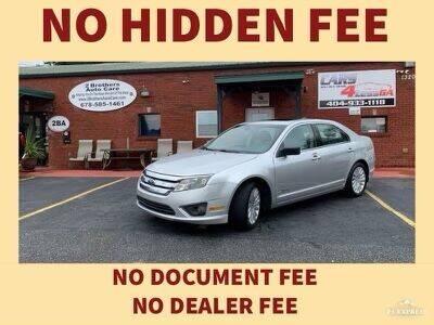 2011 Ford Fusion Hybrid for sale at Cars4Less GA in Alpharetta GA