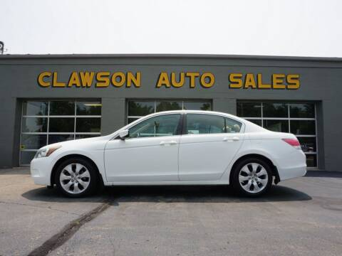 2008 Honda Accord for sale at Clawson Auto Sales in Clawson MI