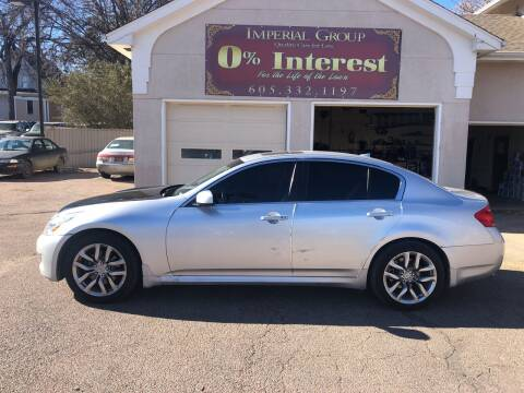 2008 Infiniti G35 for sale at Imperial Group in Sioux Falls SD