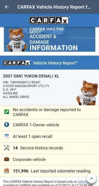 2007 GMC Yukon XL for sale at Advantage Auto Sales & Imports Inc in Loves Park IL