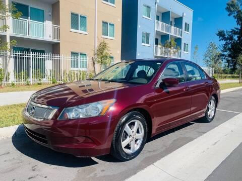 2009 Honda Accord for sale at LA Motors Miami in Miami FL