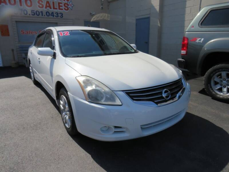 2012 Nissan Altima for sale at Small Town Auto Sales in Hazleton PA